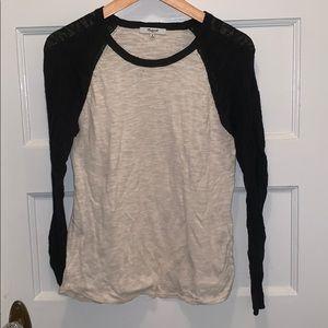 Madewell raglan style lightweight sweater